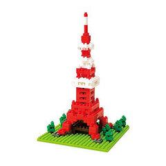 Bộ lắp ghép siêu nhỏ Tokyo Tower 137147