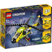 Bộ lắp ghép Trực thăng thám hiểm Lego Creator 31092