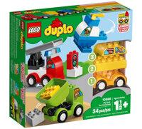Bộ lắp ráp Bộ xe hơi đầu tiên của bé Lego Duplo 10886