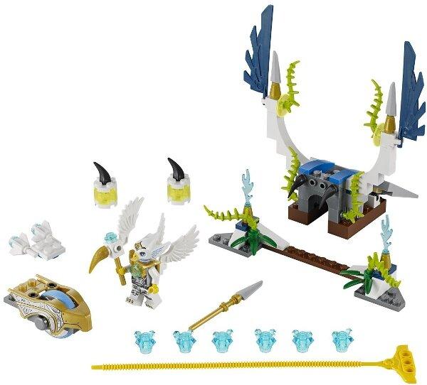 Bộ lắp ráp Chim ưng cất cánh Lego Chima 70139