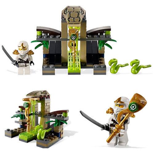 Bộ lắp ráp Lăng mộ độc xà Venomari Shrine Lego Ninjago 9440