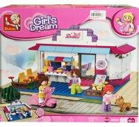 Bộ lắp ráp quán cà phê Girl's Dream M38-B0528