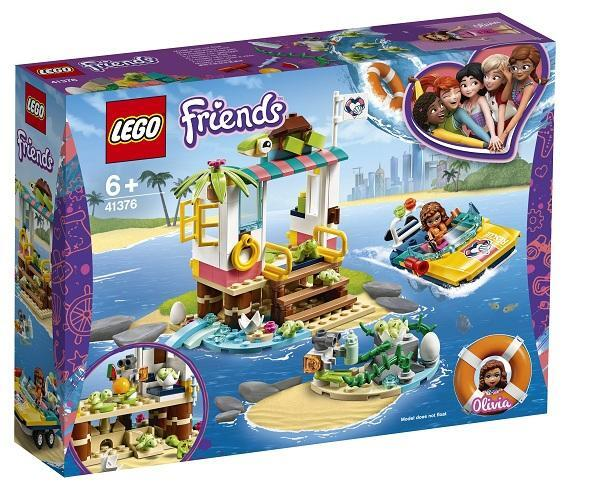Bộ lắp ráp Trạm giải cứu rùa biển Lego Friend 41376