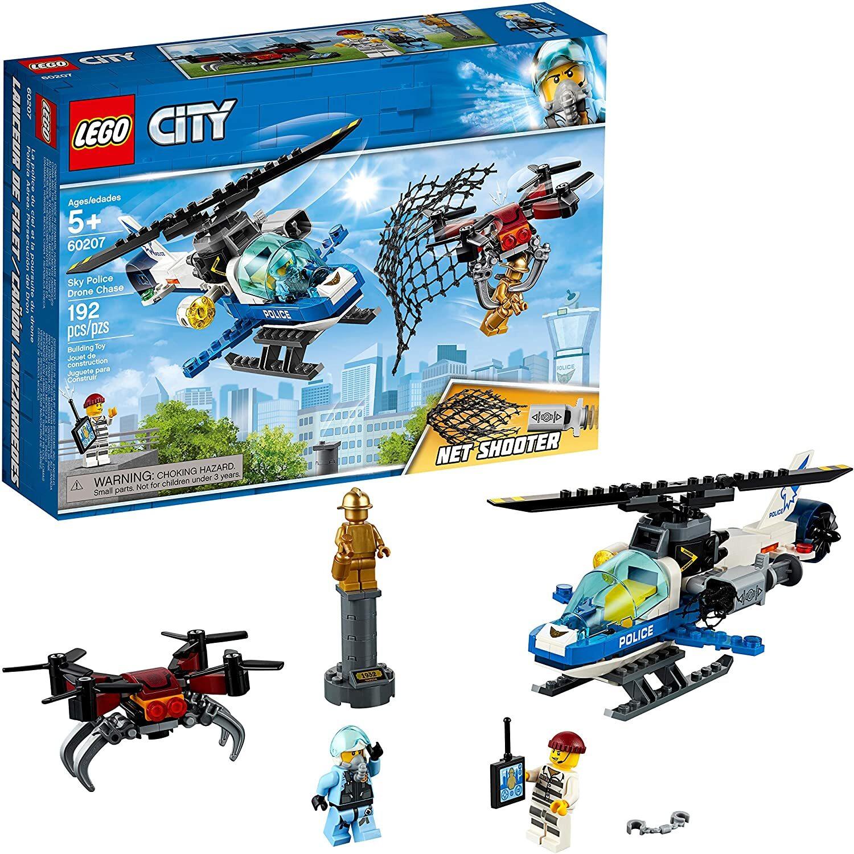 Bộ lắp ráp Truy bắt máy bay không người lái Lego City 60207