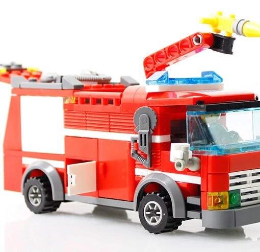 Bộ lego xếp hình cảnh sát cứu hỏa