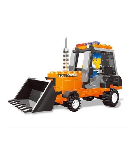 Bộ lego xếp hình Wange máy xúc – Xe công trường