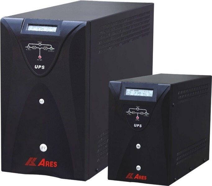 Bộ lưu điện Ares AR210NH - 600W, Online