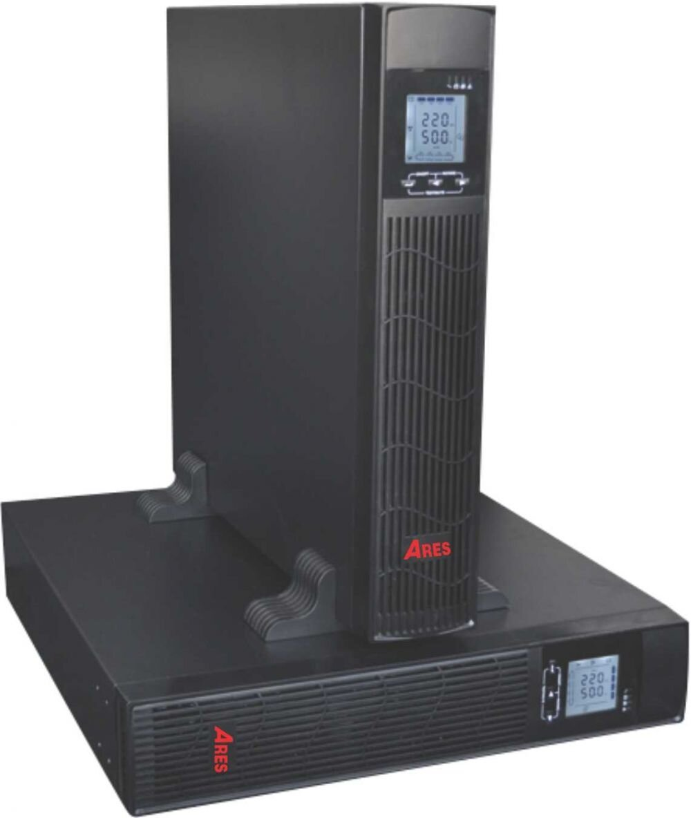 Bộ lưu điện Ares AR9010IIRT - 9000W, Online