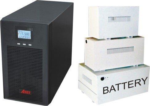 Bộ lưu điện Ares AR903IIH - 2700W, Online
