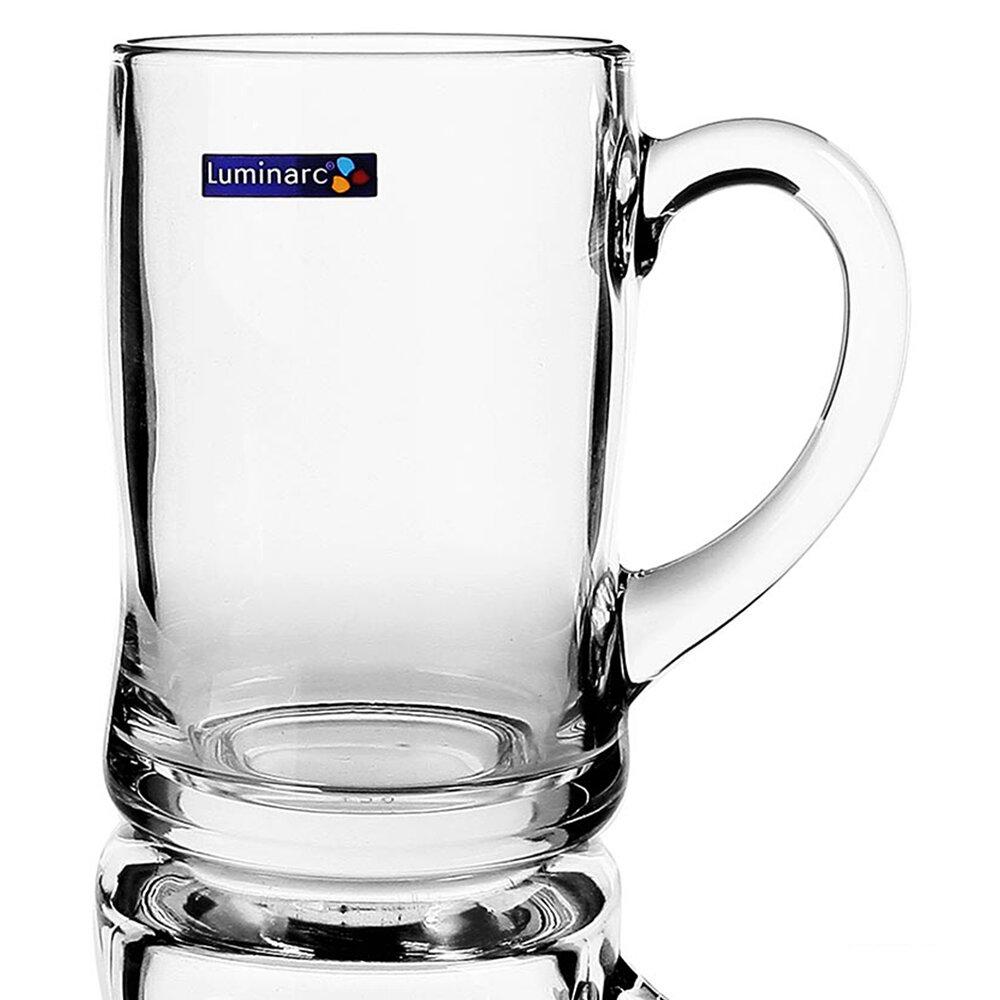 Bộ Ly Bia Thủy Tinh Benidorm 450ml Luminarc - G2616