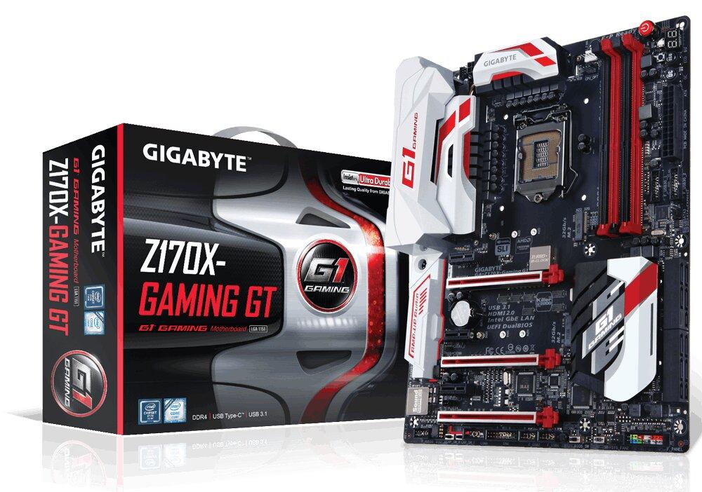 Bo mạch chủ GIGABYTE Z170X Gaming GT