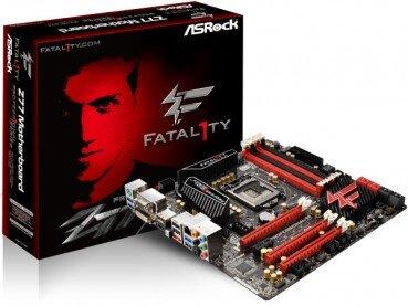 Bo mạch chủ (Mainboard) Asrock Fatal1ty Z77 Professional - Socket 1155, Intel Z77, 4 x DIMM , Max 32GB, DDR3