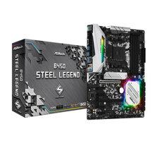 Bo mạch chủ - Mainboard Asrock B450 Steel Legend
