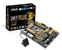 Bo mạch chủ (Mainboard) Asus Z87-DELUXE - Socket 1150, Intel Z87, 4 x DIMM, Max 32GB, DRR3