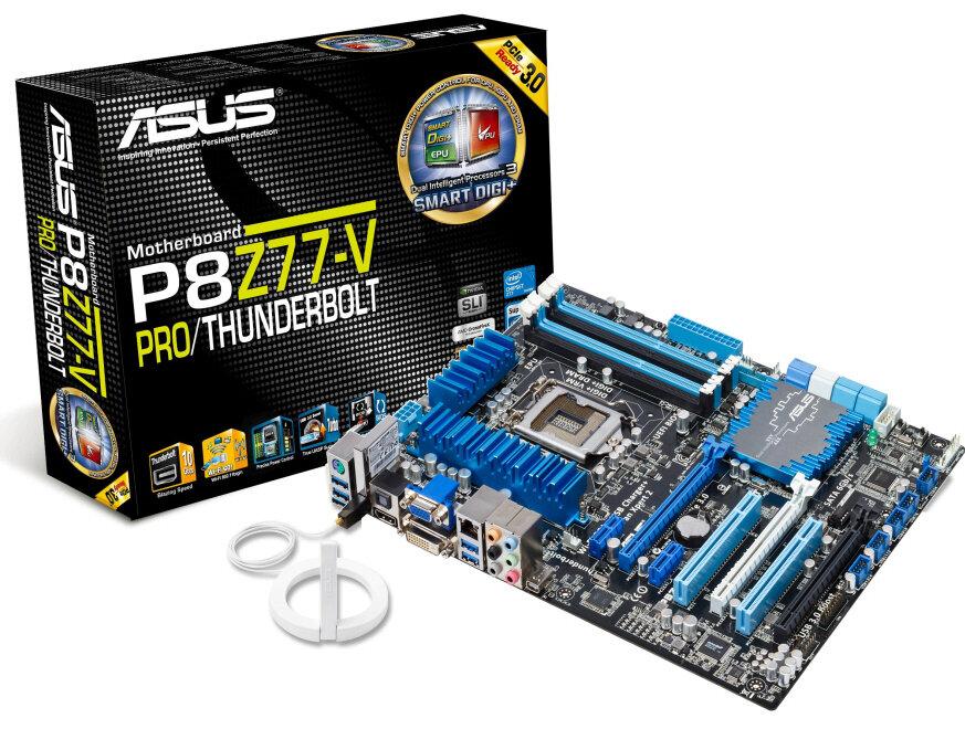 Bo mạch chủ (Mainboard) Asus P8Z77-V PRO - Socket 1155, Intel Z77, 4 x DIMM, Max 32GB, DDR3