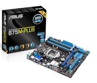 Bo mạch chủ (Mainboard) Asus B75M-Plus - Socket 1155, Intel B75, 4 x DIMM, Max 32GB, DDR3