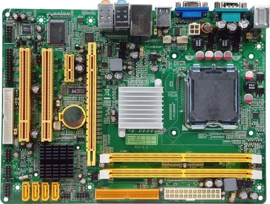 Bo mạch chủ (Mainboard) JETWAY I31GM3 - Socket 775 , INTEL G31, 2 x DIMM, Max 4GB, DDR2