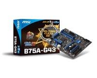 Bo mạch chủ (Mainboard) MSI B75A-G43 - Socket 1155, Intel B75, 4xDiMM, RAM 32GB