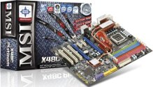 Bo mạch chủ (Mainboard) MSI X48C Platinum - Socket 775, Intel X48/ICH9R, 6 x DIMM, Max 8GB, DDR2 / DDR3