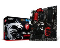 Bo mạch chủ (Mainboard) MSI B85-G43 GAMING - Socket 1150, Intel B85, 4 x DIMM, Max 32GB, DDR3