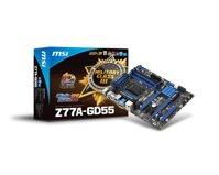 Bo mạch chủ - Mainboard MSI Z77A-GD55 - Socket 1155, Intel Z77, 4 x DIMM, Max 32GB, DDR3