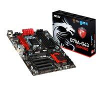 Bo mạch chủ (Mainboard) MSI B75A-G43-Gaming - Socket 1155, Intel B75, 4xDiMM, RAM 32GB