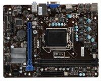 Bo mạch chủ (Mainboard) MSI H61M-E22/W8 (G3) - Socket 1155, Intel H61, 2 x DIMM, Max 16GB, DDR3