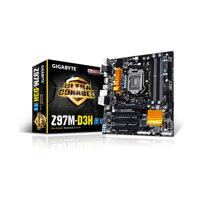 Bo mạch chủ (Mainboard) Gigabyte GA-Z97M-D3H - Socket 1150, Intel Z97, 4 x DIMM, Max 32GB, DDR3