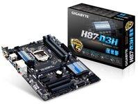 Bo mạch chủ - Mainboard Gigabyte GA H87-D3H - Socket 1150, Intel H87, 4 x DIMM, Max 32GB, DDR3