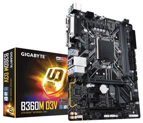 Bo mạch chủ - Mainboard Gigabyte B360M D3V