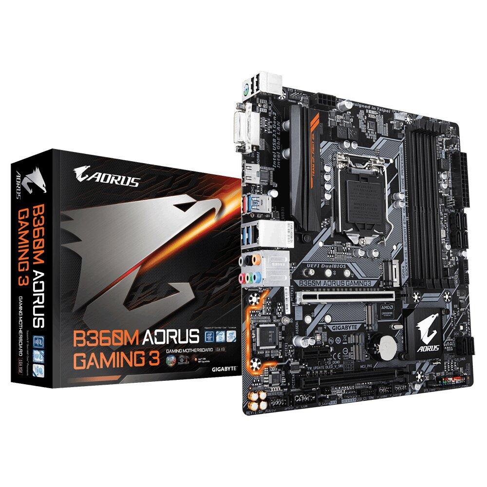 Bo mạch chủ - Mainboard Gigabyte B360M Aorus Gaming 3
