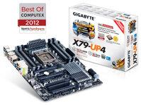 Bo mạch chủ - Mainboard Gigabyte GA X79-UP4 - Socket 2011, Intel X79, 8 x DIMM, Max 64GB, DDR3