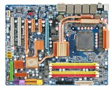 Bo mạch chủ (Mainboard) Gigabyte GA-EP45-DQ6 (rev 1.0) - Socket 775, Intel P45/ICH10R, 4 x DIMM, Max 16GB, DDR2