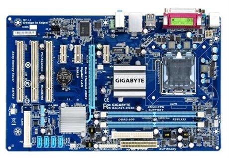 Bo mạch chủ (Mainboard) Gigabyte GA-P41-ES3G - Socket 775, Intel G41/ICH7, 2 x DIMM, Max 8GB, DDR2