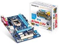 Bo mạch chủ (Mainboard) Gigabyte GA-B75M-D3V (rev. 1.0) - Socket 1155, Intel B75, 2 x DIMM, Max 16GB, DDR3