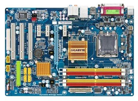 Bo mạch chủ (Mainboard) Gigabyte GA-EP41T-UD3L (rev. 1.0) - Socket 775, Intel G41/ICH7, 4  x DIMM, Max 8GB, DDR3