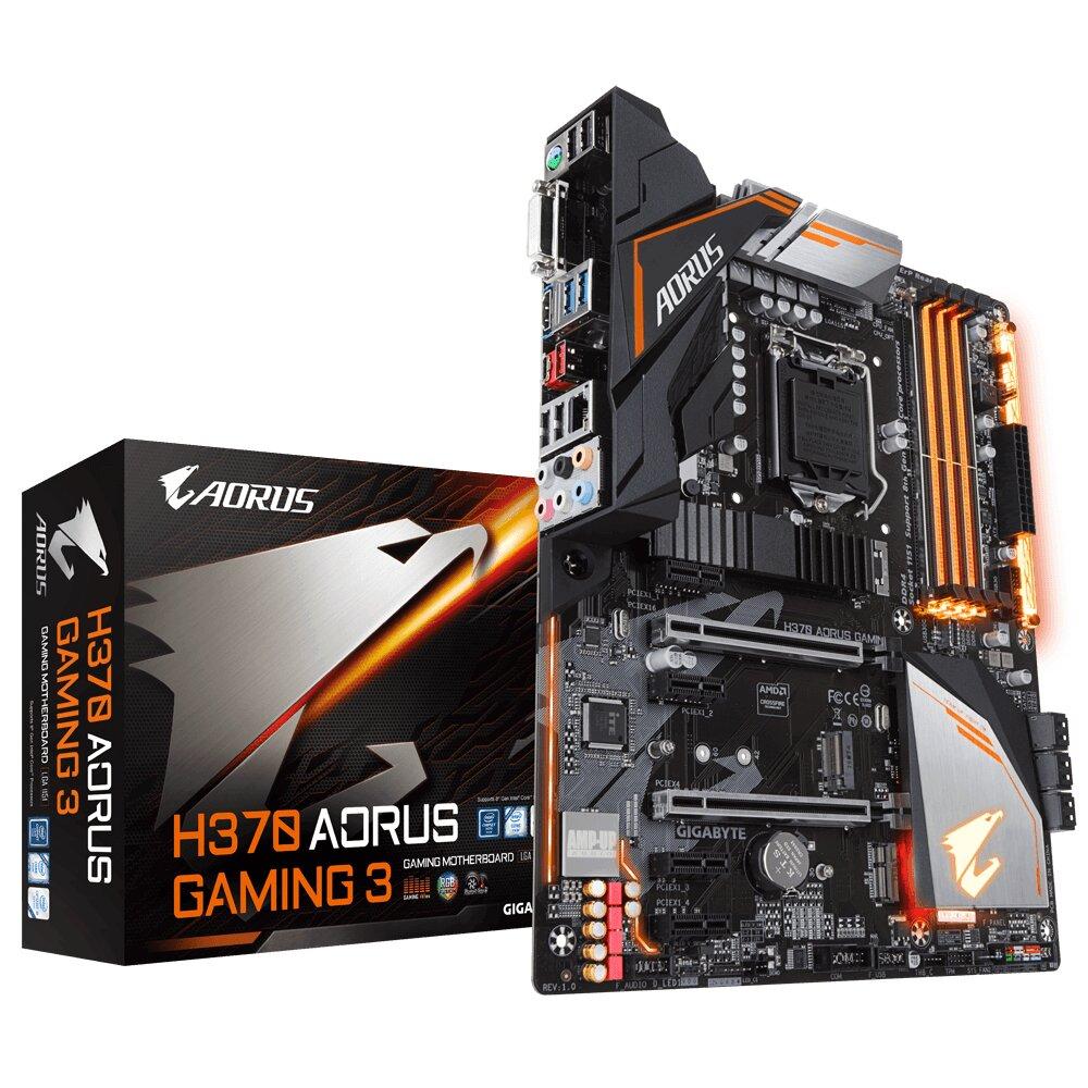Bo mạch chủ - Mainboard Gigabyte H370 Aorus Gaming 3