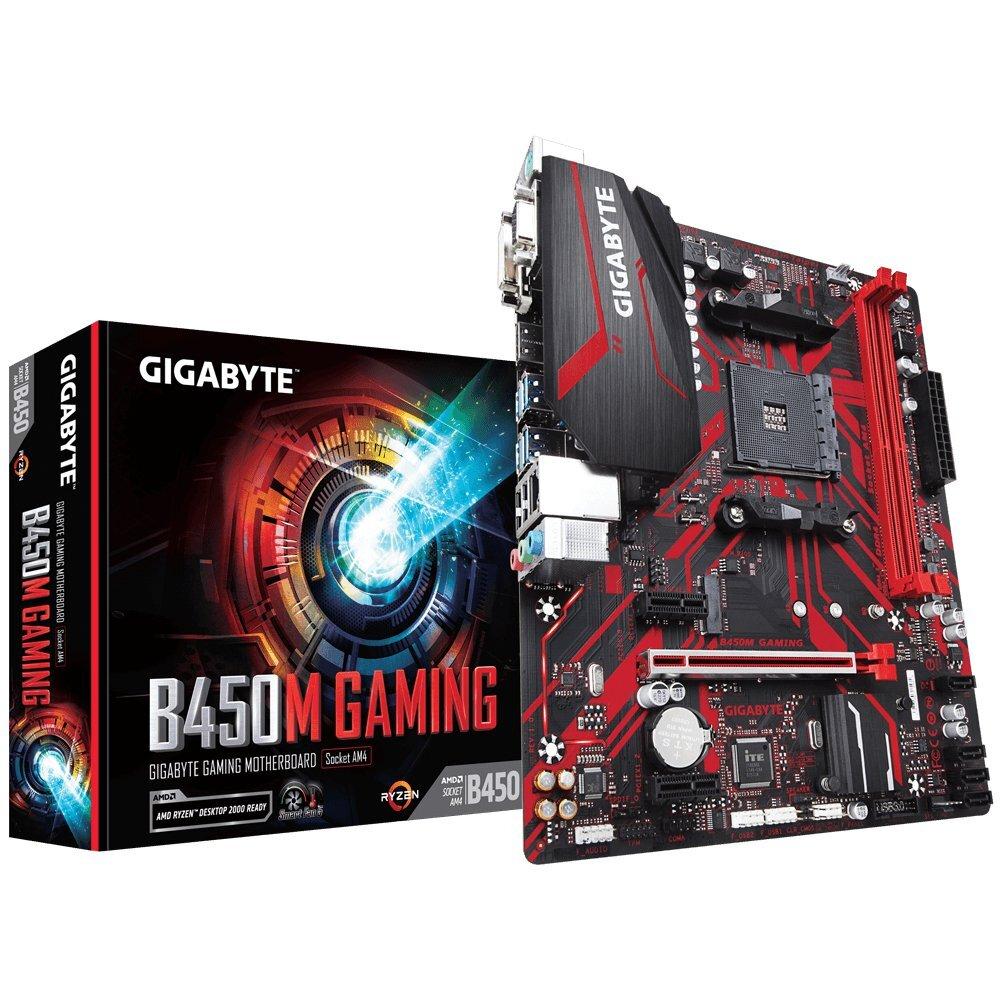 Bo mạch chủ - Mainboard Gigabyte B450M Gaming