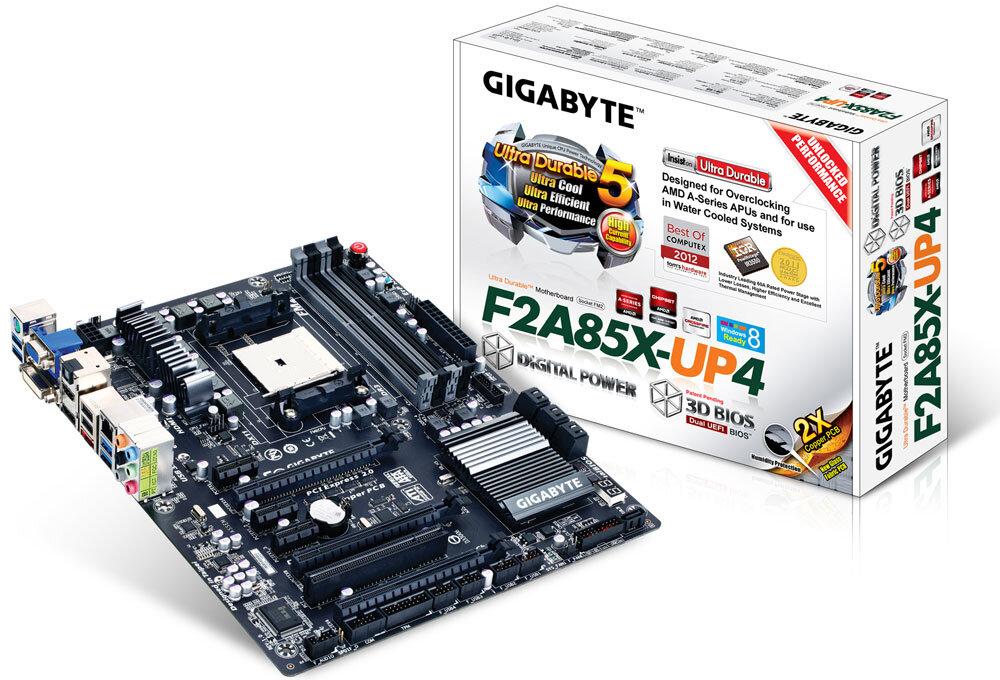 Bo mạch chủ (Mainboard) Gigabyte GA-F2A85X-UP4 - Socket FM2, AMD A85X, 4 x DIMM Max 64GB, DDR3