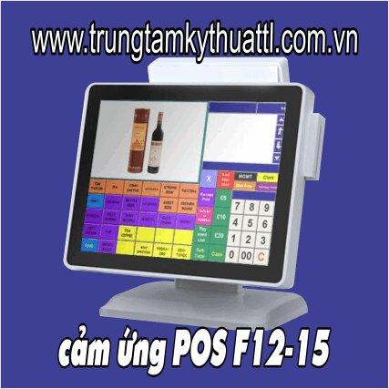 Bộ máy tính bán hàng cảm ứng POS F12-15