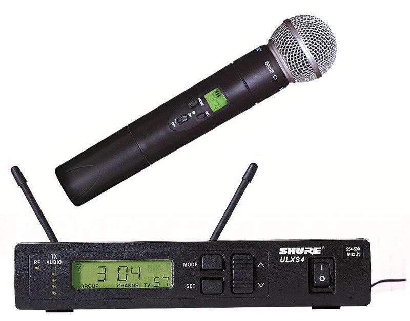Bộ micro không dây Shure ULXS24/ 58