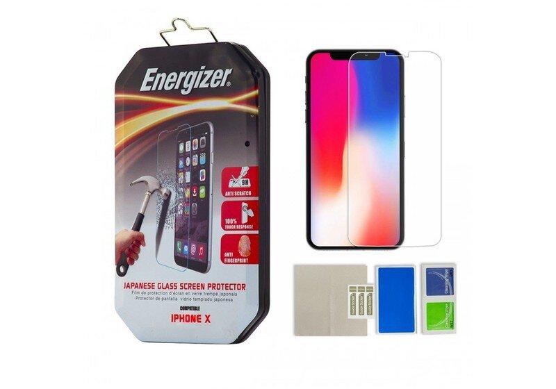 Bộ miếng dán màn hình iPhone X Energizer TG CL-ENCLTGCLIP8
