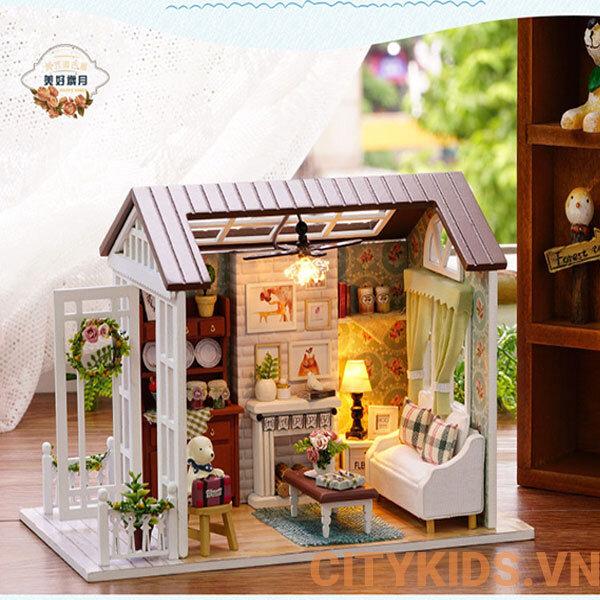 Bộ mô hình lắp ghép DIY căn phòng hạnh phúc