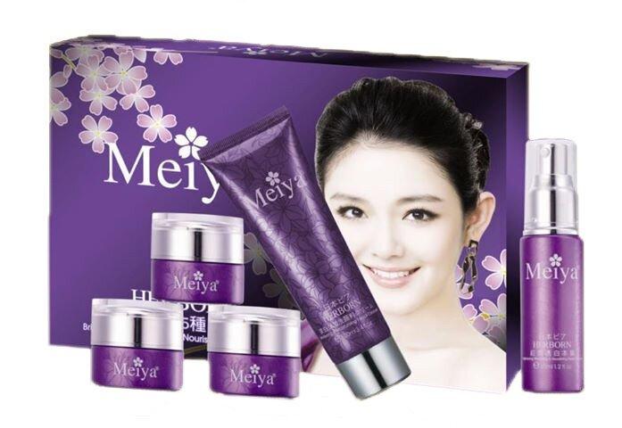 Bộ mỹ phẩm trị nám dưỡng trắng da Meiya 5 in 1