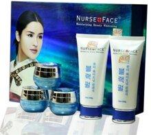 Bộ mỹ phẩm trị nám, tàn nhang tinh chất ngọc trai Nurse Face xanh