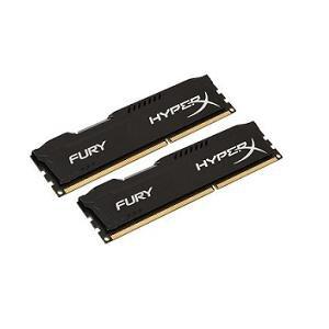 Bộ nhớ trong máy tính Kingston 8G 1866MHz DDR3 CL10 Dimm kit of 2 HyperX Fury Black