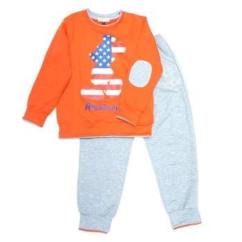 Bộ nỉ da cá American hình cờ Mỹ Shop Nấm TBD31
