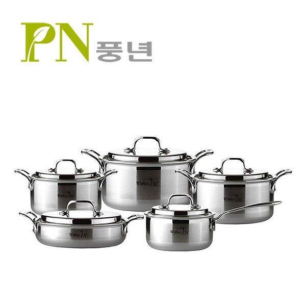 Bộ nồi Inox (dành cho bếp từ)  PoongNyun WTPIHV
