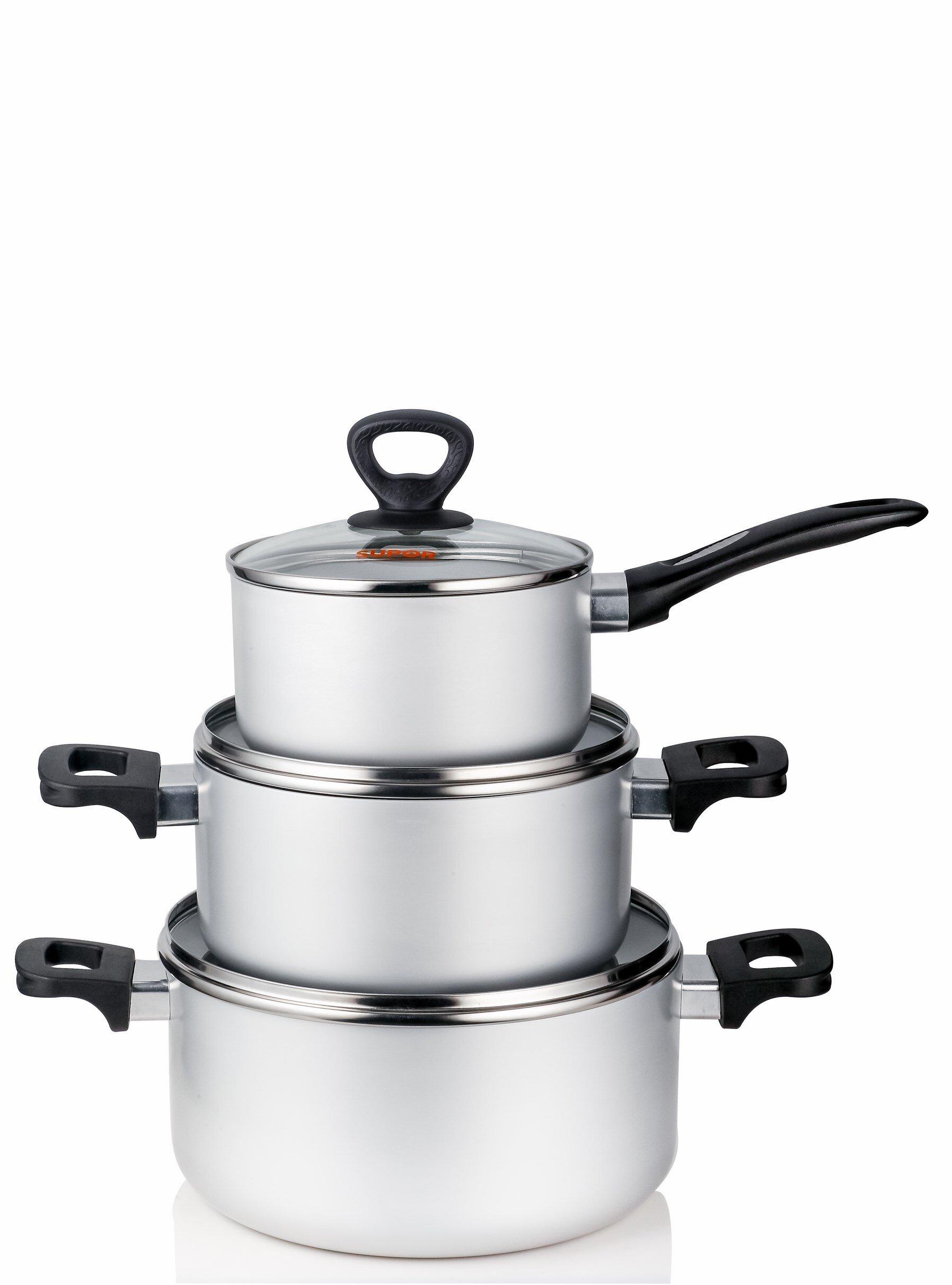 Bộ nồi nấu ăn Supor S30A-T1