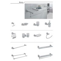 Bộ phụ kiện phòng tắm Duraqua 9700